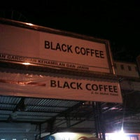Photo taken at Black Coffee by Syahrul R. on 10/12/2013