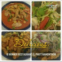 Photo taken at Winner Restaurant by Salina S. on 1/24/2013