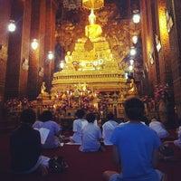 Photo taken at Wat Pho by Tanawat N. on 4/18/2013