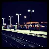 Photo taken at Fratton Railway Station (FTN) by Steve S. on 1/1/2013