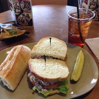 Photo taken at Saint Louis Bread Co. by Mike on 3/16/2014