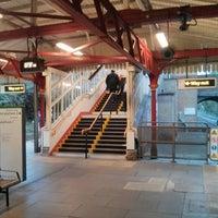 Photo taken at Wimbledon Park London Underground Station by Eric R. on 10/2/2013