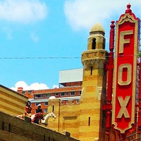 Photo taken at The Fox Theatre by Tina C. on 6/21/2013