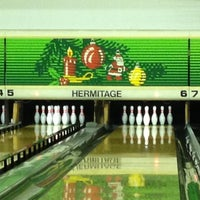 Photo taken at Hermitage Lanes by Troy W. on 12/27/2013
