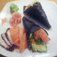 Photo taken at Sushi House by Ximena L. on 11/24/2012