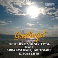 Photo taken at The Legacy Resort Santa Rosa Beach by Jason R. on 10/5/2013
