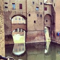 Photo taken at Castello Estense by Claudio T. on 6/30/2013