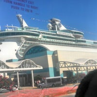 Photo taken at Royal Caribbean - Freedom Of The Seas by Megan K. on 10/21/2012