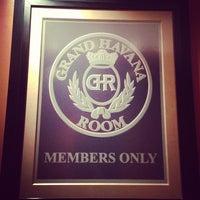 Photo taken at Grand Havana Room by Tom K. on 2/7/2013