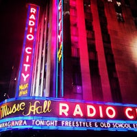 Photo taken at Radio City Music Hall by Tiffany S. on 4/1/2013
