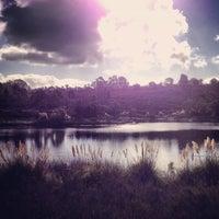 Photo taken at Lake Miramar Reservoir by Marla V. on 10/24/2012