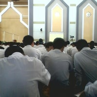 Photo taken at Masjid Al-Furqon by Satriya A. on 9/20/2014