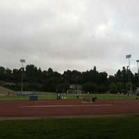 Photo taken at UCLA Drake Track & Field Stadium by icesourkiss on 7/3/2013