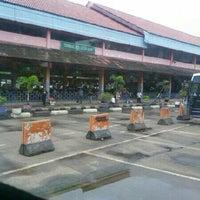 Photo taken at Terminal Kampung Rambutan by Alin H. on 4/6/2013