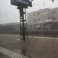 Photo taken at Bahnhof Rotkreuz by Ohm Rapeepon K. on 1/1/2016
