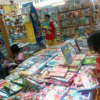 Photo taken at Gramedia by Immawan N.S. A. on 12/27/2014