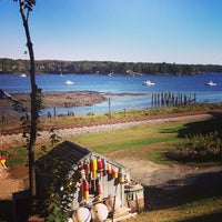 Photo taken at Wiscasset, ME by Carissa L. on 10/1/2013