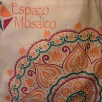Photo taken at Espaço mosaico by Crislane P. on 10/18/2014