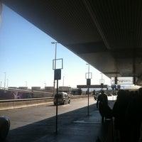 Photo taken at LAS Taxi Stand by Porfirio P. on 11/13/2012