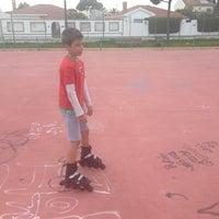 Photo taken at Parque La Paz by Cristina T. on 4/7/2013