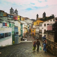 Photo taken at Largo do Pelourinho by Mariusz M. on 1/14/2013