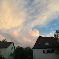 Photo taken at StuSta - Studentenstadt Freimann by Anna S. on 7/14/2014