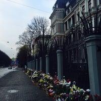 Photo taken at Krievijas vēstniecība | Посольство России by Apollinariya I. on 11/8/2015