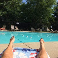 Photo taken at Sawmill Woods Condos Pool by Krystal S. on 8/17/2014