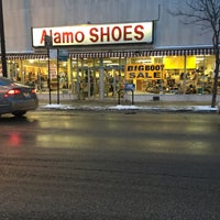 Photo taken at Alamo Shoes by iOS Genius S. on 1/5/2015