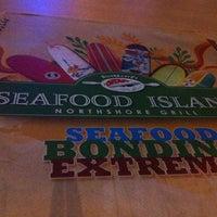 Photo taken at Blackbeard's Seafood Island by Jewel L. on 3/1/2013