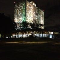 Photo taken at Universidad Nacional Autonoma de Mexico by PAOLA A. on 11/15/2012