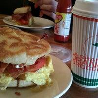 Photo taken at La Grande Orange Grocery & Pizzeria by Emily J. on 11/1/2012