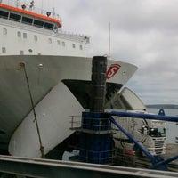 Photo taken at Fishguard Ferry Port by Bernard G. on 6/29/2013