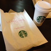 Photo taken at Starbucks by Esin E. on 7/29/2014