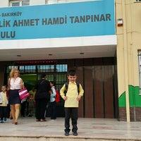 Photo taken at Ahmet Hamdi Tanpınar İlköğretim Okulu by TC Emre M. on 9/28/2015