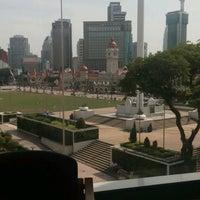 Photo taken at Perpustakaan Kuala Lumpur (Library) by Noorlyana A. on 10/9/2016