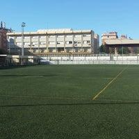 Photo taken at Olimpica Victoriana Club de Futbol by Adrian N. on 3/30/2014