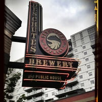 Photo taken at Deschutes Brewery Portland Public House by Ron B. on 8/11/2013