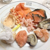 Photo taken at Caviar House & Prunier by Polina A. on 12/15/2012