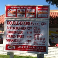 Photo taken at In-N-Out Burger by Chris L. on 2/22/2013