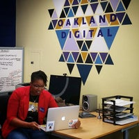 Photo taken at Oakland Digital (ODALC) by Shaun T. on 4/21/2015
