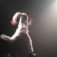 Photo taken at Daryl Roth Theatre (Fuerza Bruta Wayra) by Dan on 10/25/2012