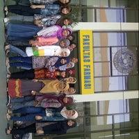 Photo taken at Fakultas Farmasi by Chikita F. on 10/2/2012