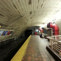 Photo taken at MBTA Porter Square Station by Andrew K. on 1/31/2015