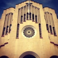 Photo taken at National Shrine of Our Mother of Perpetual Help by Ambong G. on 7/3/2013