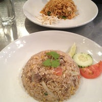 Photo taken at EAT = Authentic Thai Kitchen by Jose Miguel M. on 3/6/2013