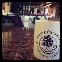 Photo taken at Something Sweet Coffee & Bakery by Toby B. on 11/18/2014