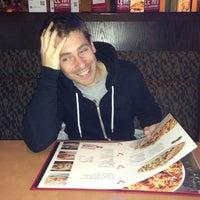 Photo taken at Boston Pizza by Sebastien L. on 10/25/2012