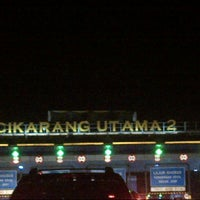 Photo taken at Gerbang Tol Cikarang Utama by Paskalis M. on 12/2/2012