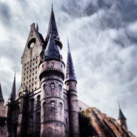 Photo taken at Harry Potter and the Forbidden Journey / Hogwarts Castle by Brandyn B. on 12/24/2012